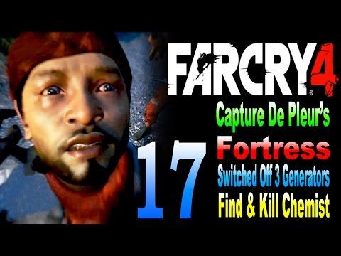 Far Cry 4 - Capture De Pleurs Fortress / Switched Off 3 Generators / Find & Kill Chemist Part 17