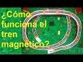 Funcionamiento del tren magnético casero con imanes de neodimio