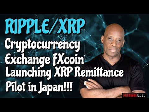 Ripple/XRP Cryptocurrency Exchange FXcoin Launching XRP Remittance Pilot in Japan!!!! from YouTube · Duration:  10 minutes 34 seconds