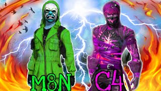 M8N Vs C4 Gaming || Speed master Vs Headshot king || Next Level gameplay || who will win ?