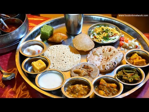 Best Gujarati Thali in Surat, Gujarat | Indian Food Ranger Nikunj Vasoya