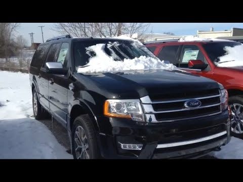 2016 ford expedition king ranch full tour overview youtube. Black Bedroom Furniture Sets. Home Design Ideas