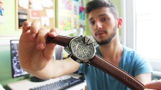 Aliexpress Alışverişim (10) - Deri Kol Saati -