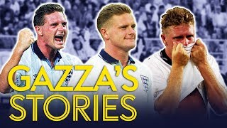 Paul Gascoigne telling hilarious Italia '90 stories | Gazza's Stories