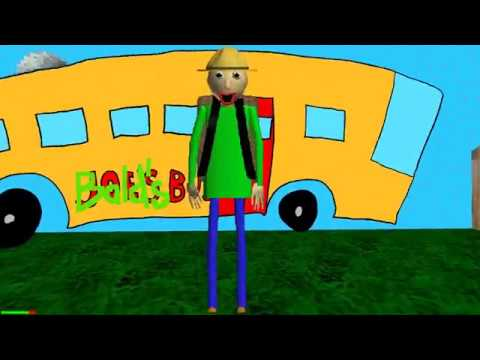 BALDIS SCHOOL FIELD TRIP! || Baldi's Basics Field Trip: Camping (NEW BALDI GAME)