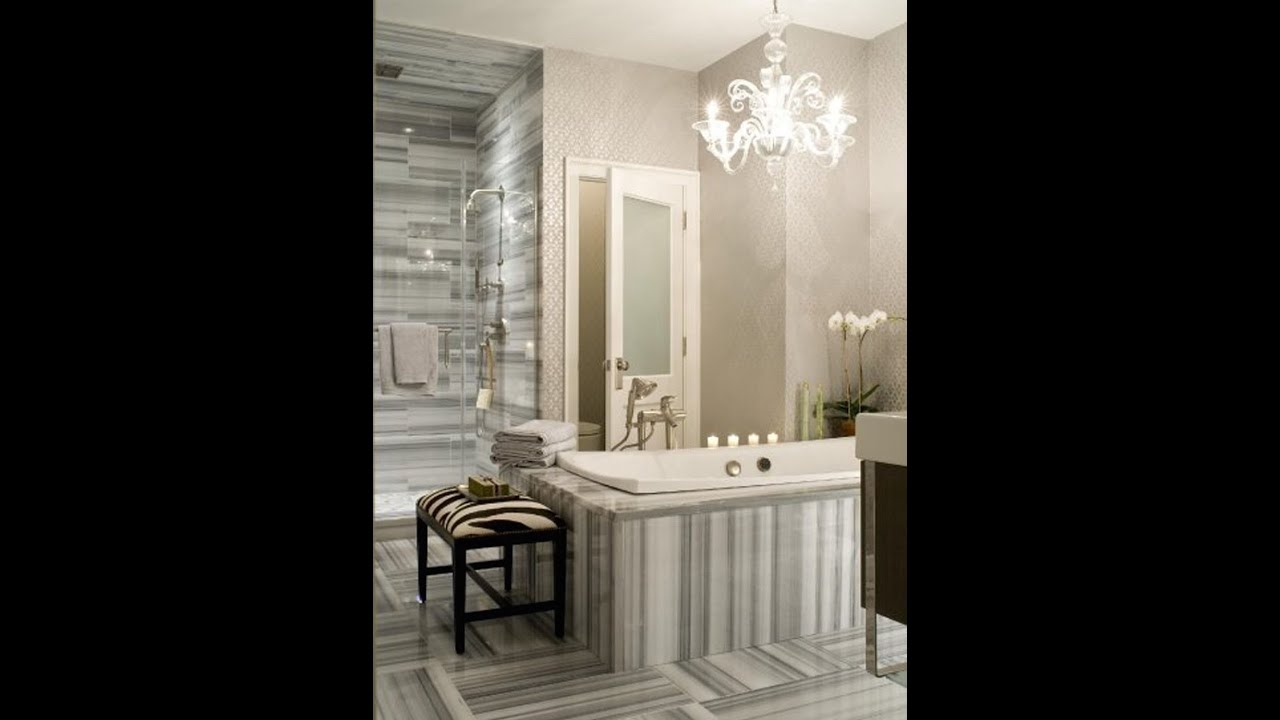 Polished marble tiles bathroom - Skyline Marmara White Polished Marble Tiles