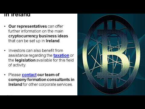 Cryptocurrency Startup Business Ideas in Ireland
