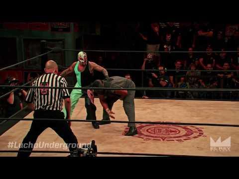 Rey Mysterio vs. Matanza Cueto - Lucha Underground ep. 335