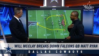 Will McClay Breaks Down Cowboys Opponent Matt Ryan | Dallas Cowboys 2018