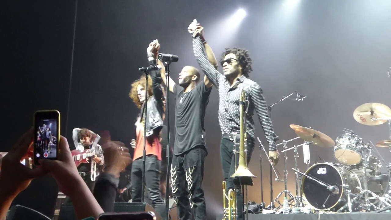 Trombone Shorty feat. Lenny Kravitz & Craig Ross (Salle Pleyel - Paris - November 20th 2016)