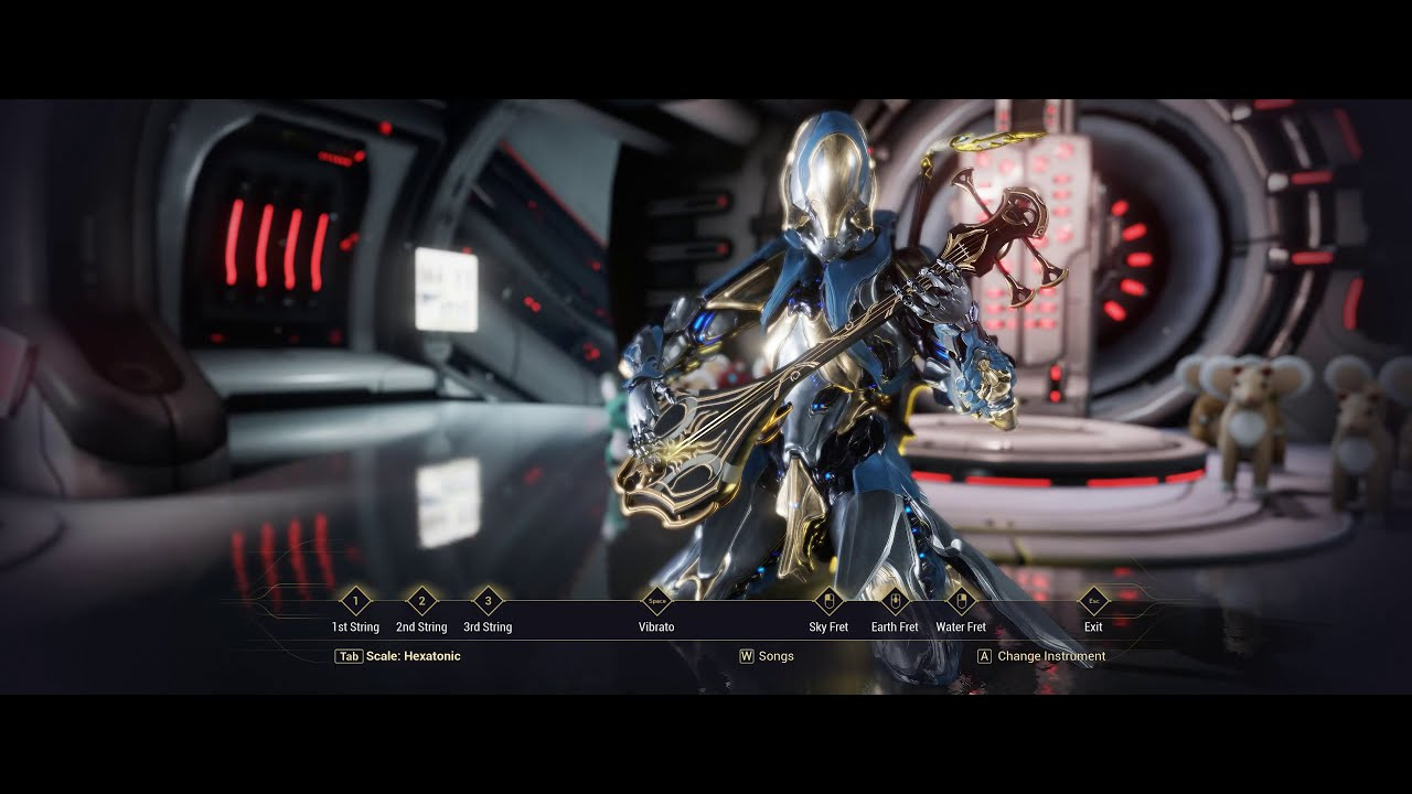 You can (kind of) play Guitar Hero in Warframe now