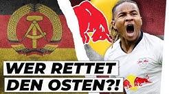 Fußball im Osten am Boden: Ist RB Leipzig die Rettung?