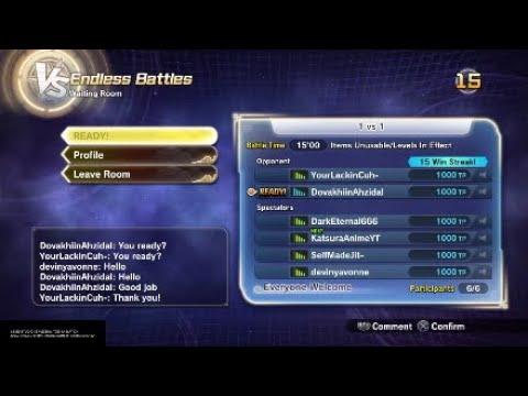 Dragon Ball Xenoverse 2 I Got To Fight Some Strong Opponents On Katasura's Stream!! |