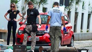 Sprengsätze und Schießereien: Heftiger Bankraub in Brasilien