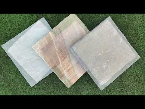 What's the difference between our Natural and Manufactured paving?