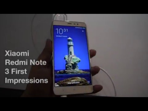 Xiaomi Redmi note 3 Review Videos