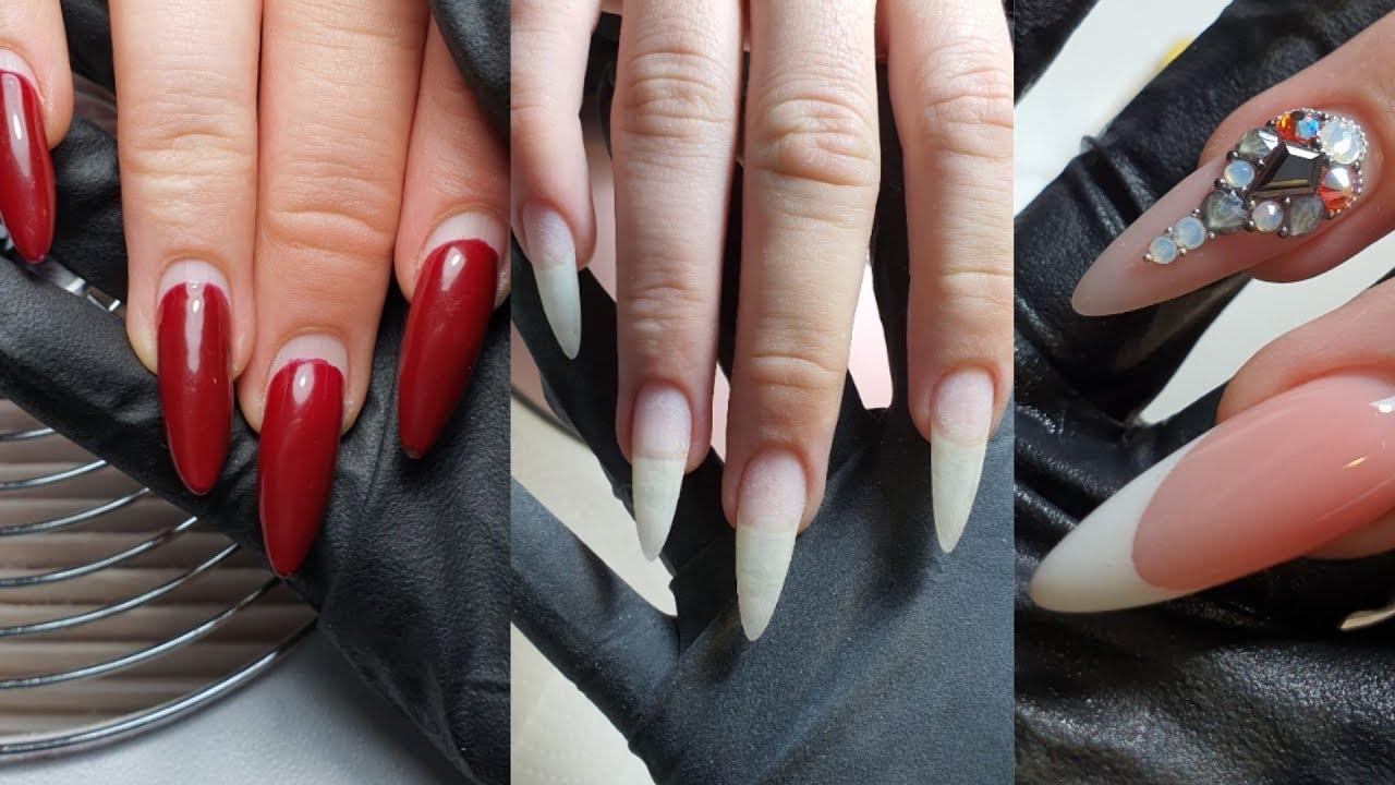 Стрессовая длина натуральных ногтей /ногти через 5 недель носки /самый простой способ сделать френч