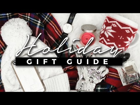 Holiday Gift Guide: Unisex Gift Ideas for Anyone! + GIVEAWAY!