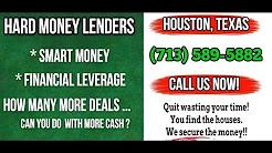 Hard Money Lenders Houston Texas 2018