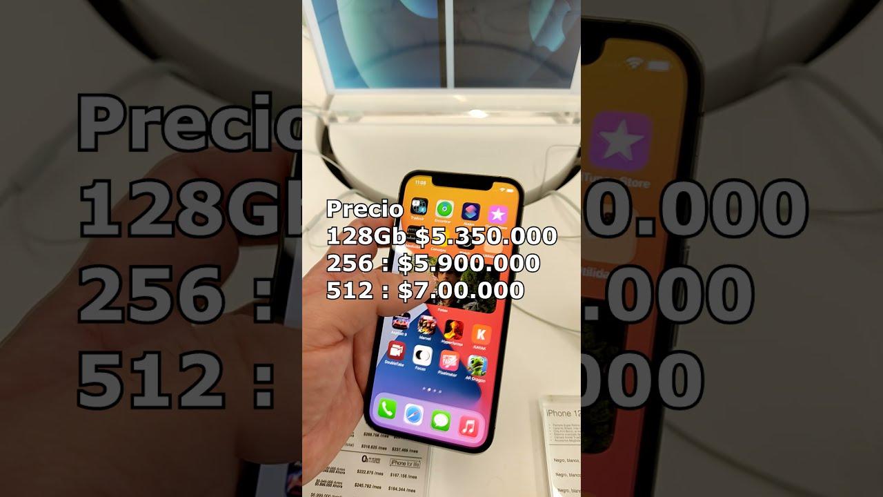 iPhone 12 PRO precio Celulares iPhone en Colombia parte 4 #Shorts