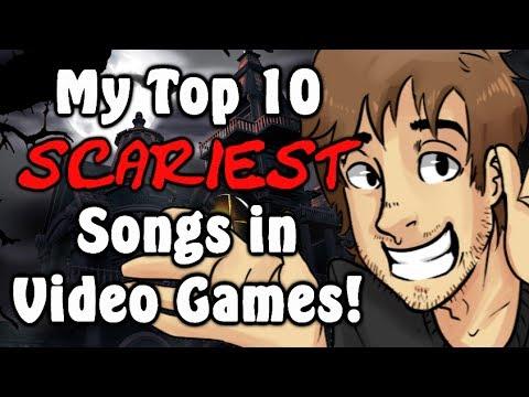 Top 10 Scariest Songs in Video Games! - Caddicarus