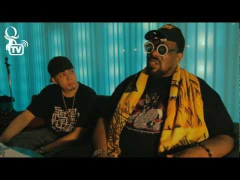 Q Bar Live Interviews the one and only, Afrika Bambaataa