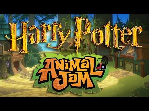 How to Create a HOGWARTS Den [Animal Jam Speed Decoration]