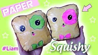 DIY Paper Squishy 3D SANDWICH | Liam Channel