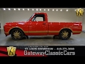 1971 Chevrolet C10 Stock #7200 Gateway Classic Cars St. Louis showroom