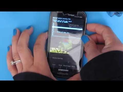 Hard Reset Samsung Stellar I200 Verizon