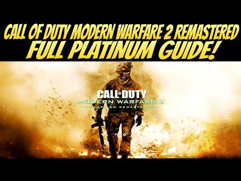 Call Of Duty Modern Warfare 2 Remastered FULL PLATINUM GUIDE!