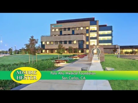 PAMF San Carlos Center Green Roof Installation
