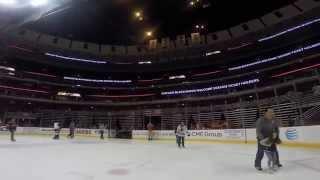 United Center Skate for Season Ticket Holder Appreciation Night