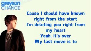 Greyson chance unfriend you karaoke ...