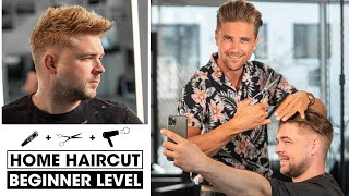 How To Cut Men's Hair   Short Haircut for Summer 2020