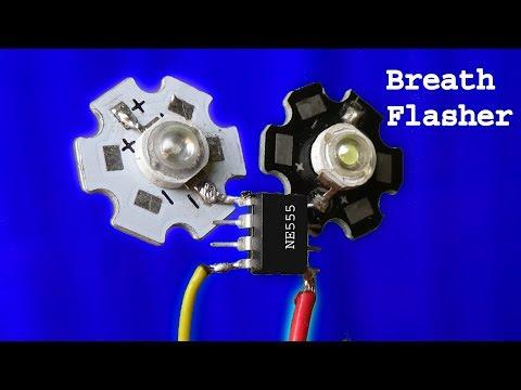 2 superb breath flasher,awesome led light flasher, diy flasher light