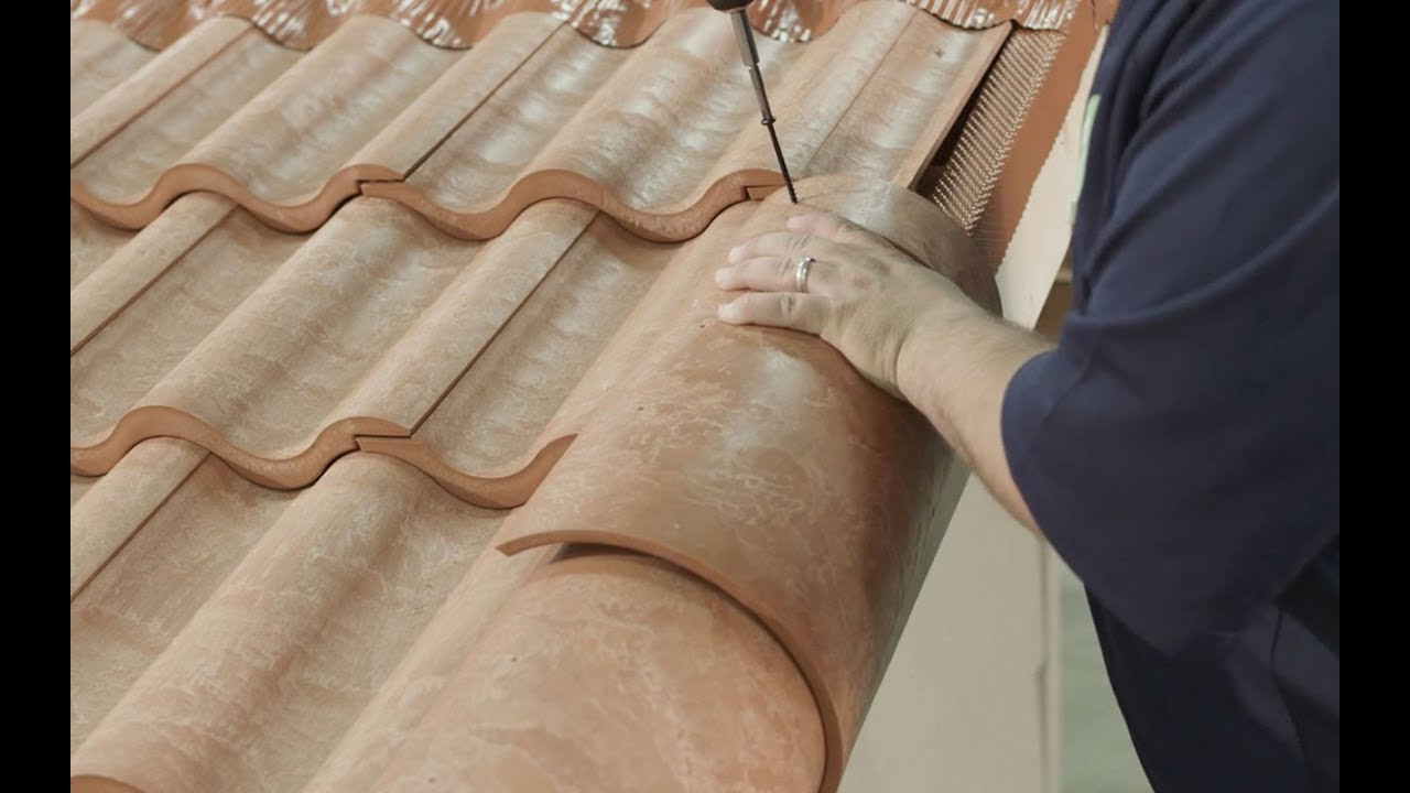 How To Install Hip Rake Ridge Cap Tiles Universal