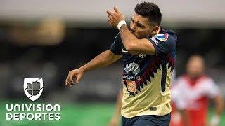 Silvio Romero encabeza el XI ideal de la jornada 8 de la Liga MX