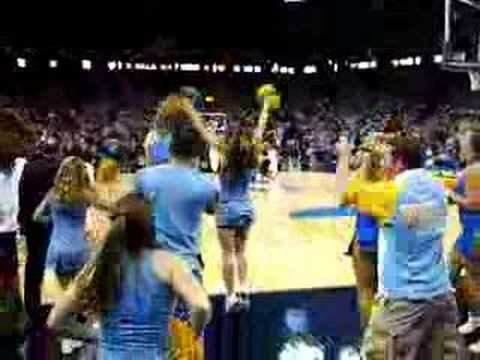 UCLA Comeback Against Gonzaga From The Band Section