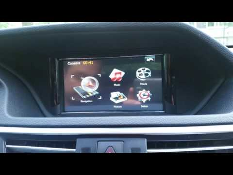 Mercedes Benz E class W212 bilstereo android navigation gps