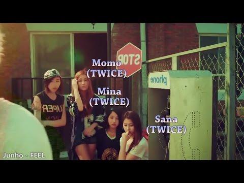 Female K-pop Idols: Predebut MV Appearances 2