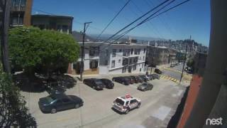 San Francisco: Broad daylight armed robbery — cinematic!