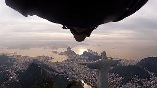 Wingsuit Flight Under Arm of Christ Statue in Rio de Janeiro, Highlights   Perfect Flight, Ep. 1