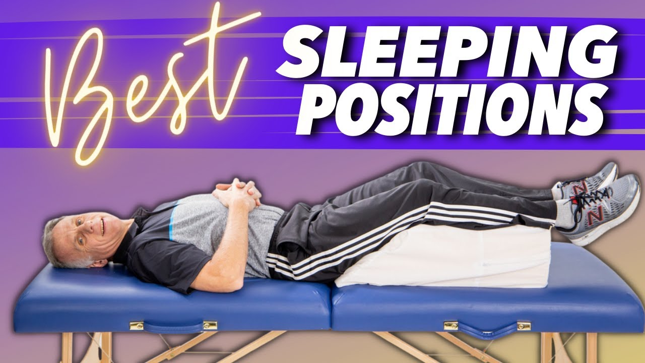 Best Sleeping Position For Back Pain Sciatica Amp Leg Pain