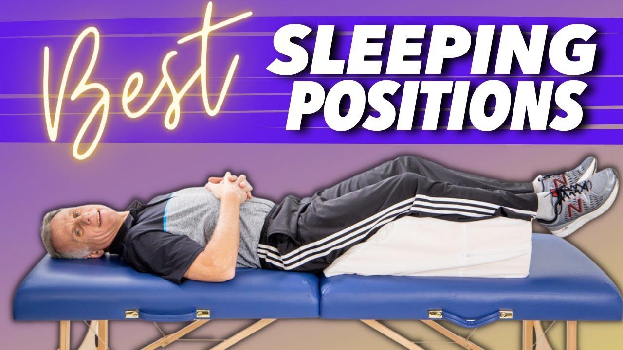 sleeping positions for sciatica