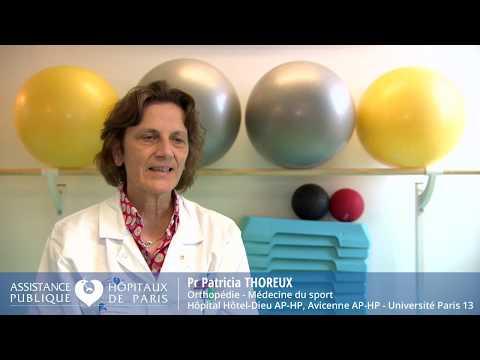 Présentation des plateformes sport-santé de l'AP-HP - Pr Patricia Thoreux