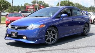 2008 Honda Civic SI Sedan SI Mugen Start Up, Road Test, Comparison and In Depth Review