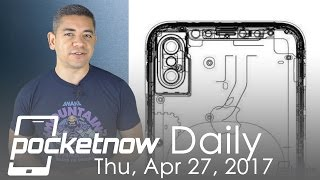 iPhone 8 final schematics leaked, Microsoft Cortana speaker & more   Pocketnow Daily