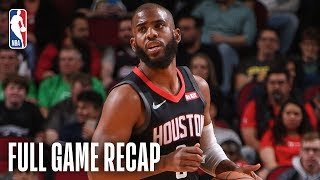 TIMBERWOLVES vs ROCKETS   Houston Knocks Down 21 Three-Pointers   March 17, 2019