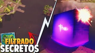 *FILTRATE* NEW CUBE SECRETS in BALSA BOTIN - EASTER EGG FORTNITE: Battle Royale